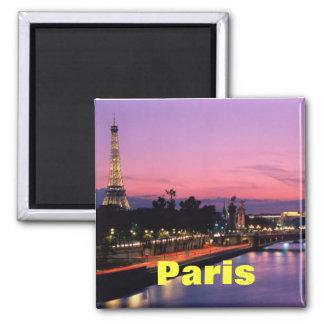 Paris-Magnet Quadratischer Magnet