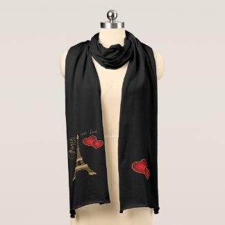 Paris mit Liebe Schal