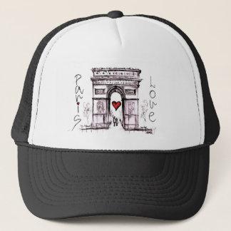 Paris mit Liebe Truckerkappe