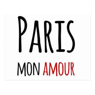 Paris, Mon, amour Postkarte