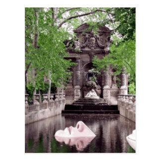 Paris-Nase Postkarte