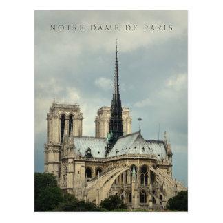 Paris, Notre Dame-Kathedralenpostkarte Postkarte