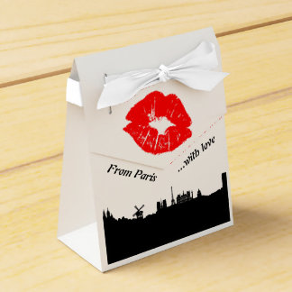 Paris Party Favor Boxgift Geschenkschachtel