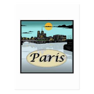 Paris-Postkarte Postkarte