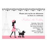 Paris-Pudel-Einladungen