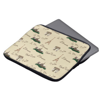 Paris-Spaß Laptop Sleeve