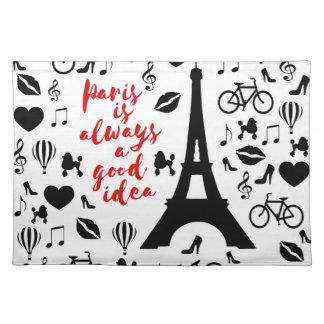 Paris Stofftischset