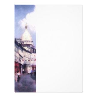 Paris-Straße Bedruckte Flyer