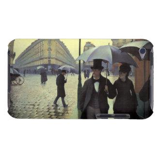 Paris-Straße, regnerischer Tag durch Gustave Barely There iPod Etuis