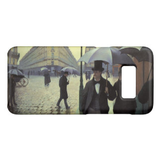 Paris-Straßen-regnerischer Tag durch Gustave Case-Mate Samsung Galaxy S8 Hülle