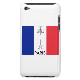 Paris-Thema-französischer Flaggenipod-Touch-Fall Case-Mate iPod Touch Case