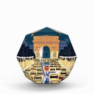 Paris Triumphbogen Acryl Auszeichnung
