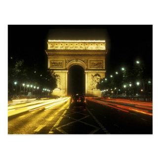 Paris - Triumphbogen - Postkarte
