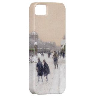 Paris unter Schnee iPhone 5/5S Fall iPhone 5 Etui