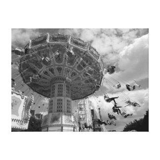 Paris-Vergnügungspark Leinwanddruck