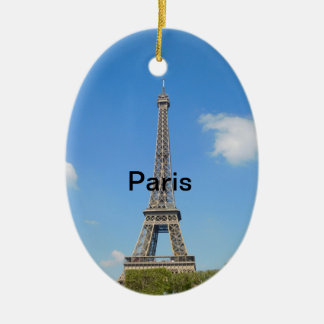 Paris-Weihnachtsbaum-Verzierung Keramik Ornament