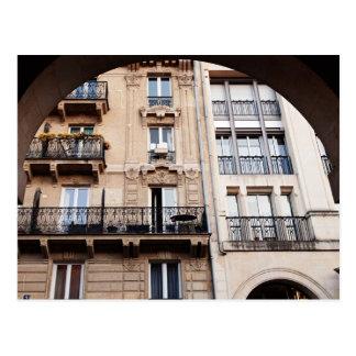 Pariser Balkon Postkarte