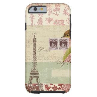 Pariser Collage für Kundenbezogenheit Tough iPhone 6 Hülle