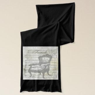 Pariser Stuhl mit Musik Schal