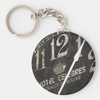 Pariser Uhr keychain Schlüsselanhänger