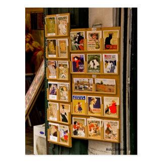 Parisienne Postkarte