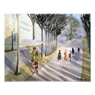 Parisstroll-Foto-Druck Fotodruck