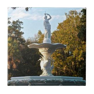 Park-Brunnen Savanne-Georgia   Forsyth Keramikfliese