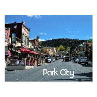 Park City, Utah Postkarte