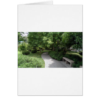 Park-Gehweg Karte