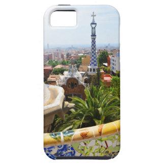 Park Guell in Barcelona, Spanien Etui Fürs iPhone 5