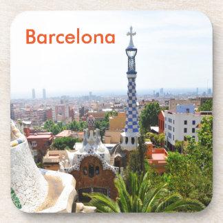 Park Guell in Barcelona, Spanien Getränkeuntersetzer
