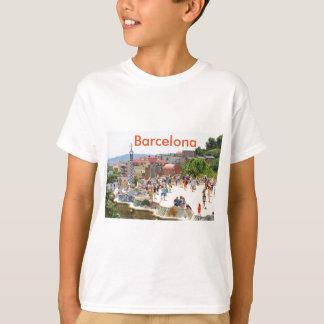 Park Guell in Barcelona, Spanien T-Shirt