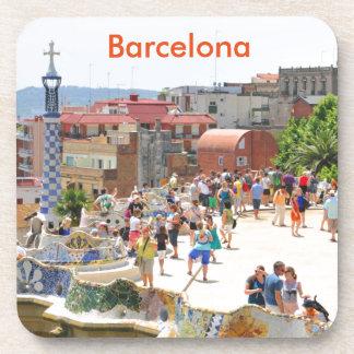 Park Guell in Barcelona, Spanien Untersetzer