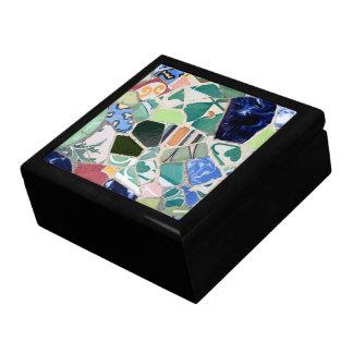 Park Guell Mosaiken giftbox Erinnerungskiste