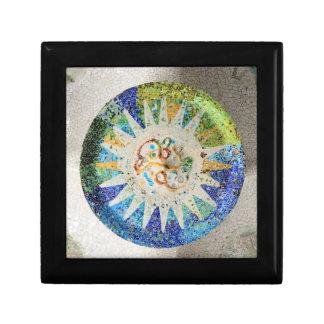 Park Guell Mosaiken giftbox Geschenkbox
