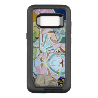 Park Guell Mosaiken OtterBox Defender Samsung Galaxy S8 Hülle