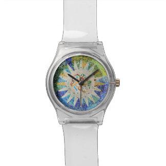 Park Guell Mosaiken Armbanduhr