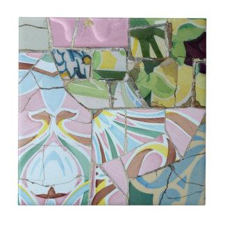Park Guell Mosaikfliese Keramikfliese