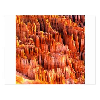 Park Hoodoos Bildungen Bryce Schlucht Utah Postkarte