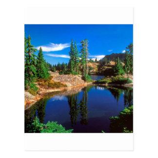 Park-Indigo träumt Rampart Seen Wenatchee Postkarte