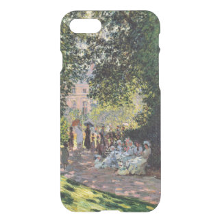 Park Monceau Monet schöne Kunst iPhone 8/7 Hülle