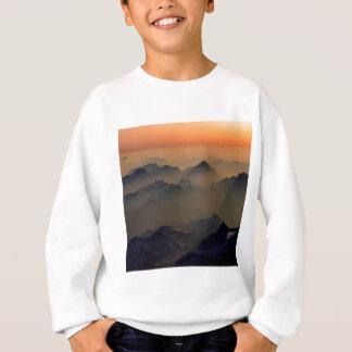 Park-nebelhafte Spitzen-Alpen Österreich Sweatshirt
