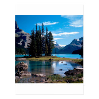 Parken Sie den Natur-Jaspis Alberta Kanada Postkarte