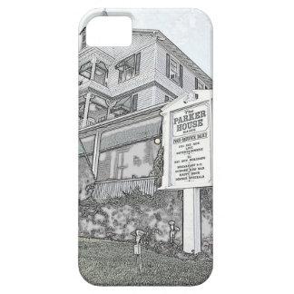 Parker Haus-Skizze - Jersey-Ufer iPhone 5 Hülle