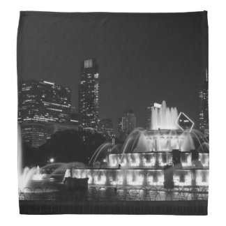 ParkGrayscale Chicagos Grant Kopftuch