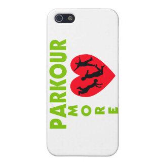 Parkour Amore mit Herzen Hülle Fürs iPhone 5