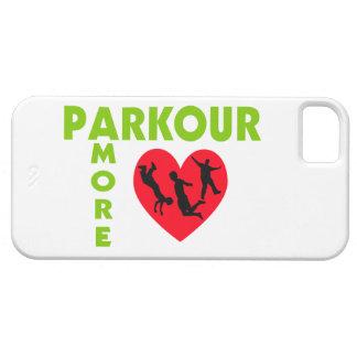 Parkour Amore mit Herzen iPhone 5 Hülle