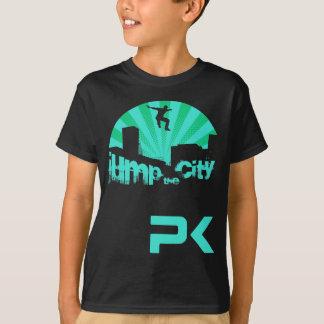 Parkour Dach-Sprung T-Shirt