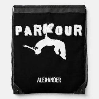 Parkour Gurt-Sackrucksack Turnbeutel