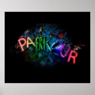Parkour Plakat